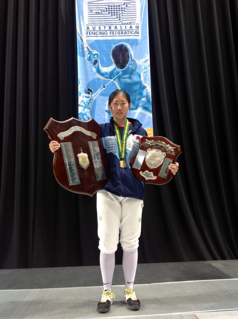 Lishan Sung - gold medalist - senior and junior champion