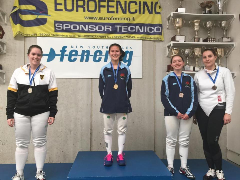 Open Womens Foil Prelim Uts Fencing Club